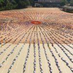 Mass Surya Namaskar 18-2-2013